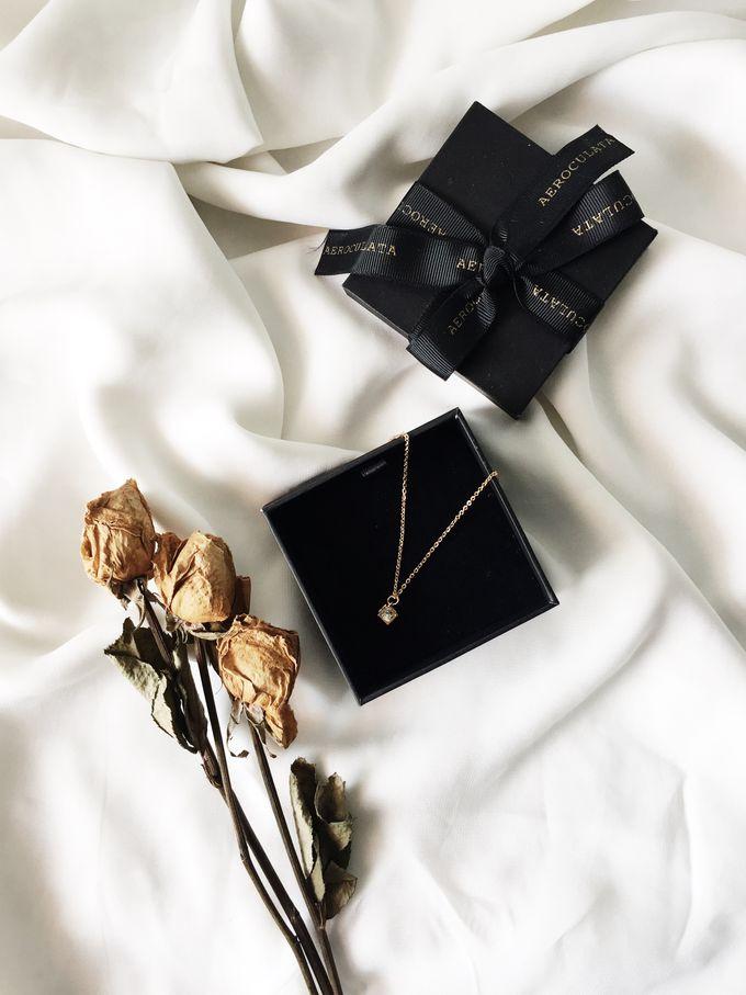 Mrs A - Custom Fine Gold Necklace by AEROCULATA - 001