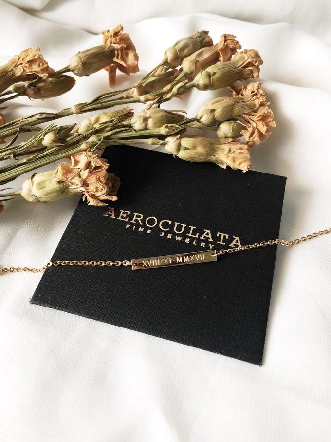 18ct Fine Gold - Custom Bracelet for Mrs F by AEROCULATA - 003