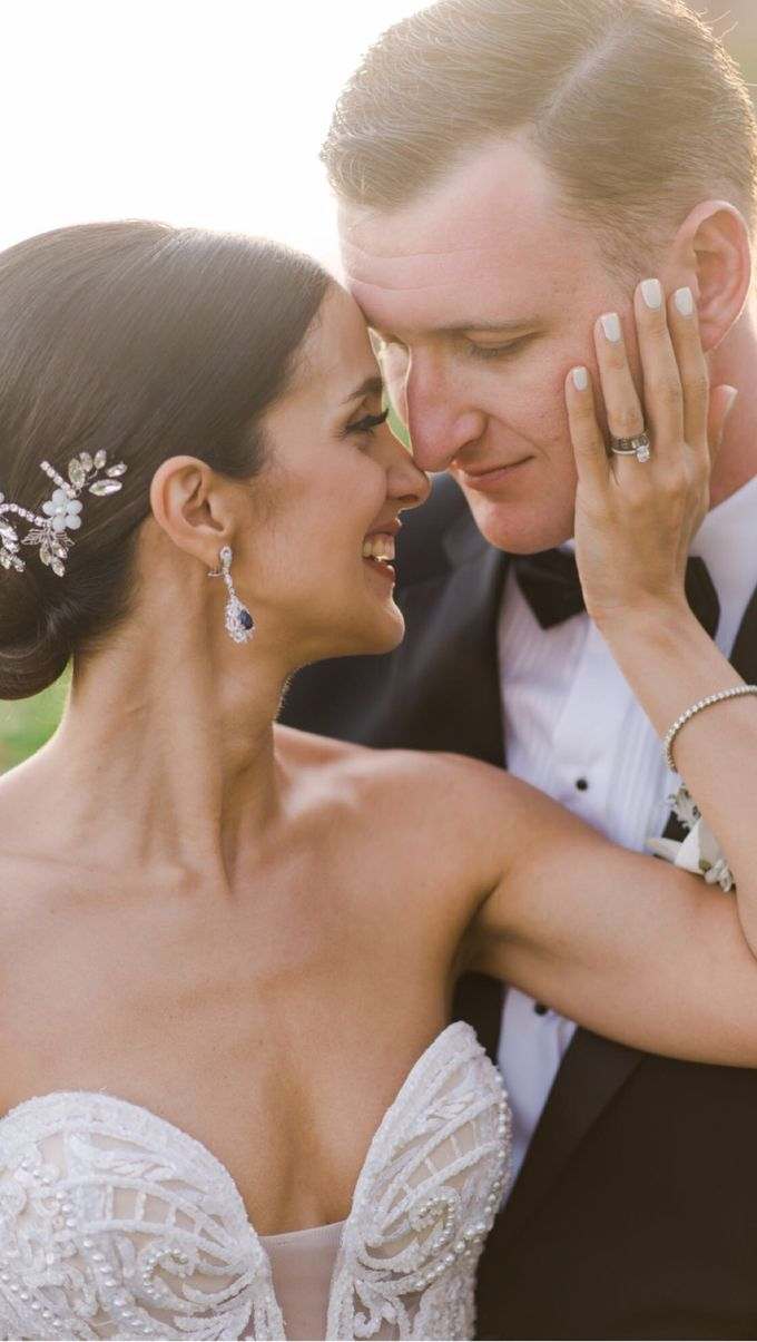 Real Wedding of Jesse & Mahsa by Tirtha Bridal - 015