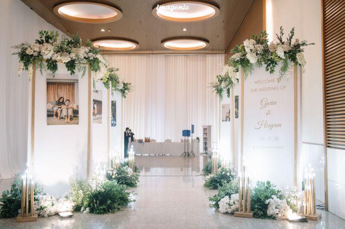 Foyer Decoration Inspiration for New Normal Wedding by Skenoo Hall Emporium Pluit by IKK Wedding - 004