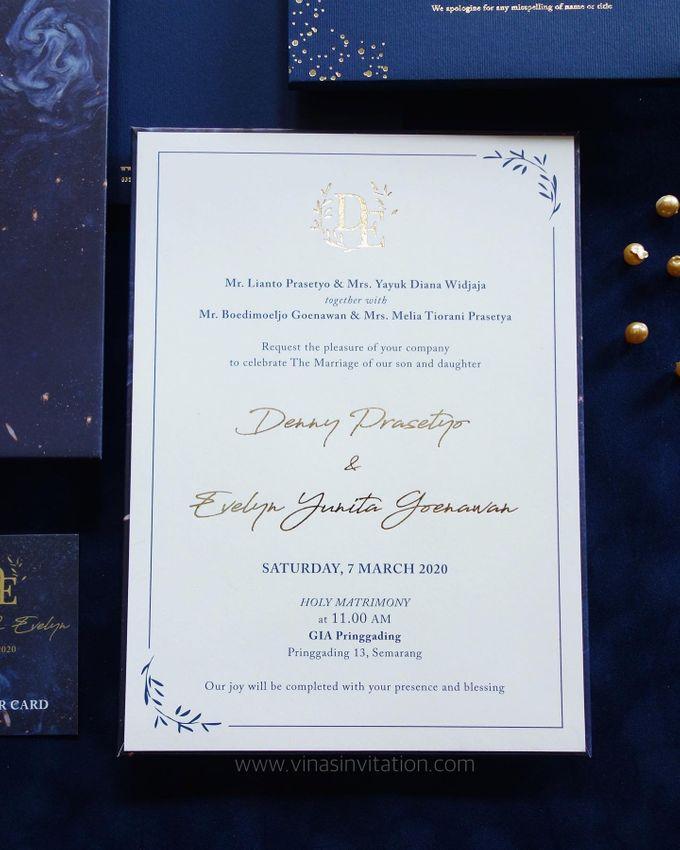 Denny & Evelyn by Vinas Invitation - 005