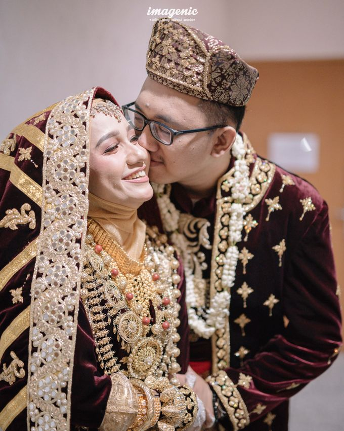 Minang Akad Nikah of Haq & Hilda by  Menara Mandiri by IKK Wedding (ex. Plaza Bapindo) - 013