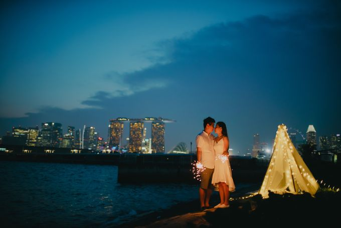 Twilight in the city by Hong Ray Photography - 007