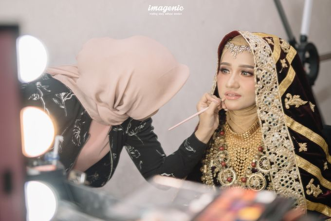 Minang Akad Nikah of Haq & Hilda by  Menara Mandiri by IKK Wedding (ex. Plaza Bapindo) - 015