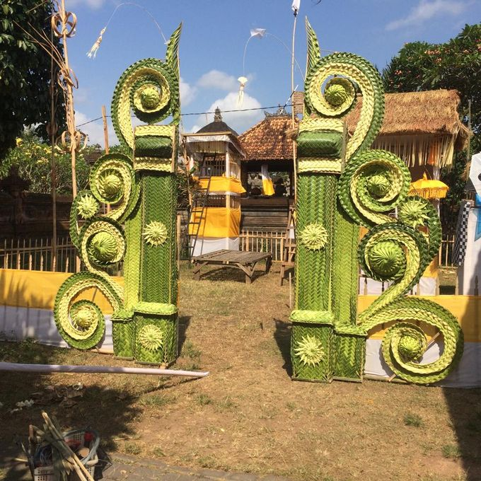 Contemporary archways and venue dressing by Make A Scene! Bali - 013