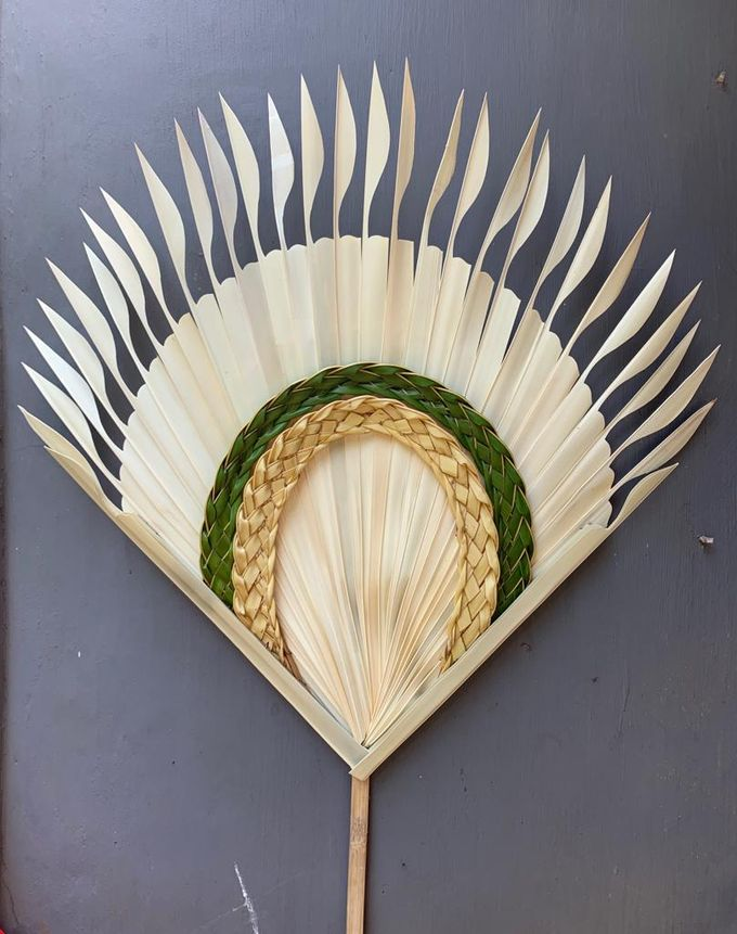 Traditional Balinese Fan Ornaments by Make A Scene! Bali - 002