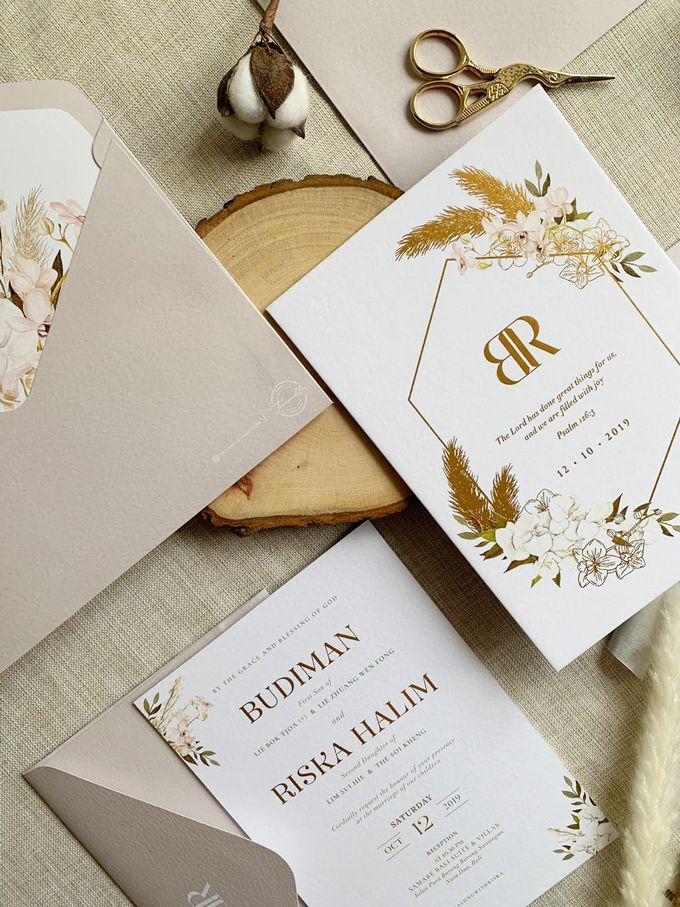 Bohemian Pampas by Trouvaille Invitation - 002