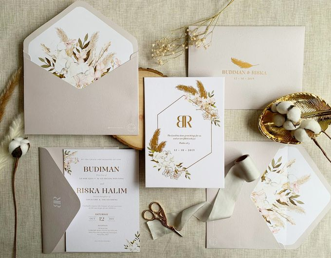 Bohemian Pampas by Trouvaille Invitation - 003
