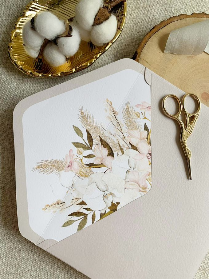 Bohemian Pampas by Trouvaille Invitation - 004