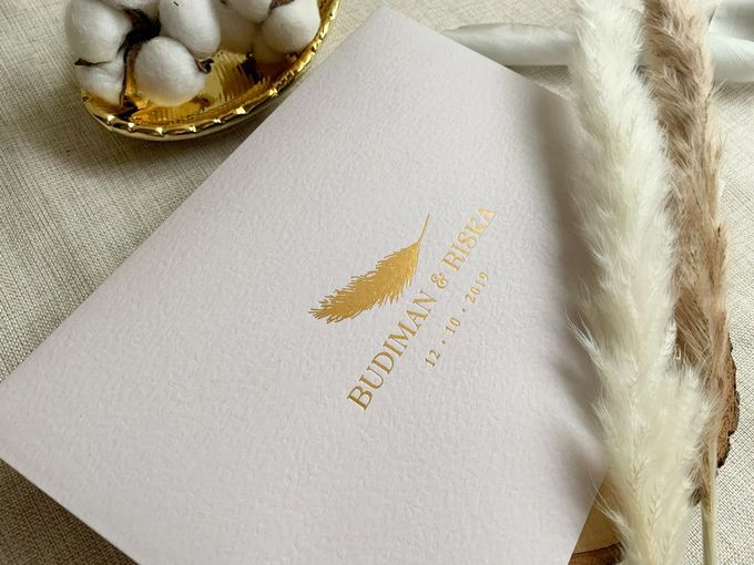 Bohemian Pampas by Trouvaille Invitation - 008