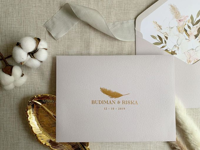 Bohemian Pampas by Trouvaille Invitation - 005