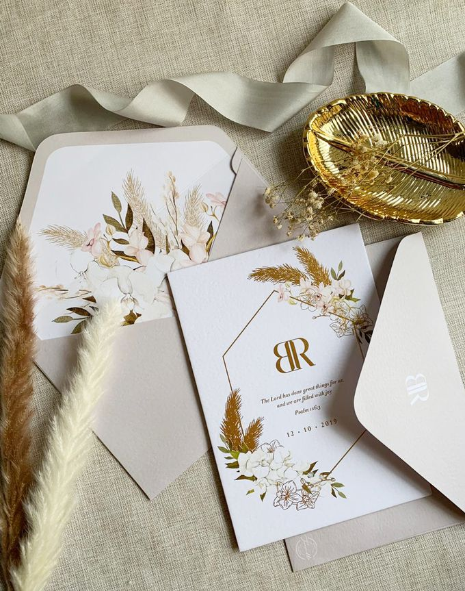 Bohemian Pampas by Trouvaille Invitation - 006