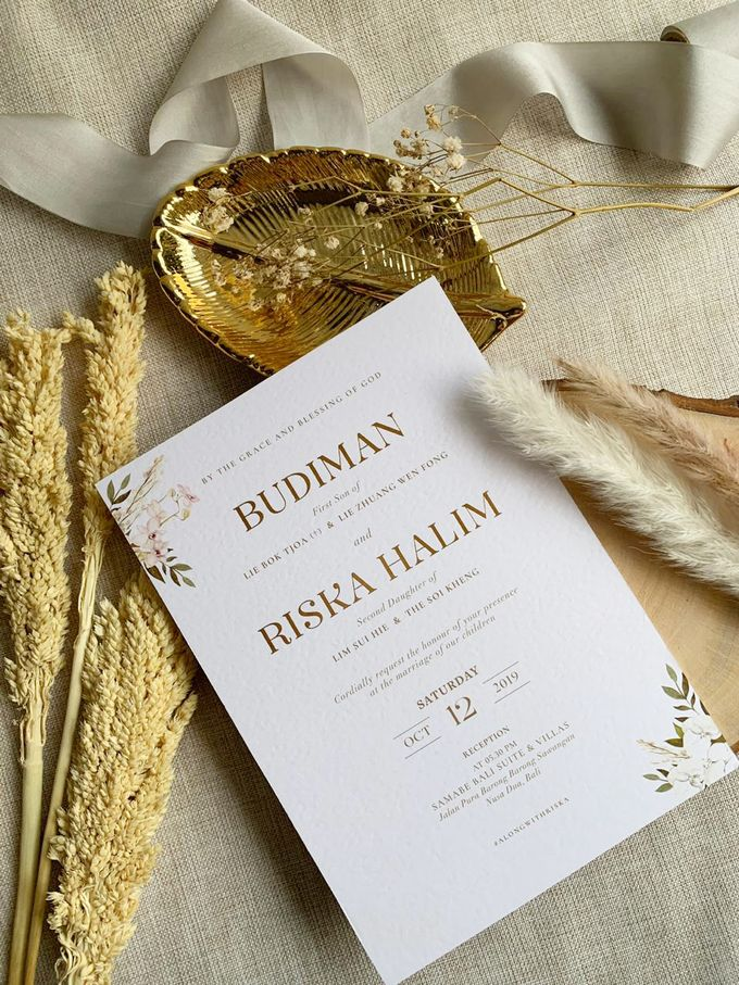 Bohemian Pampas by Trouvaille Invitation - 007