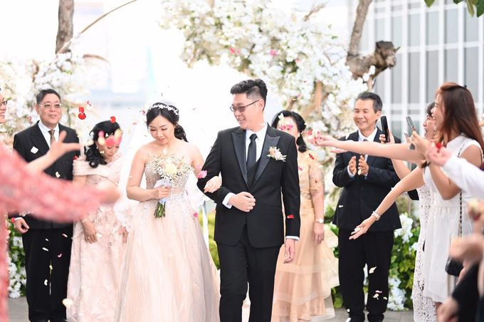 The Wedding of  Permadi & Stephany by Khayim Beshafa One Stop Wedding - 012