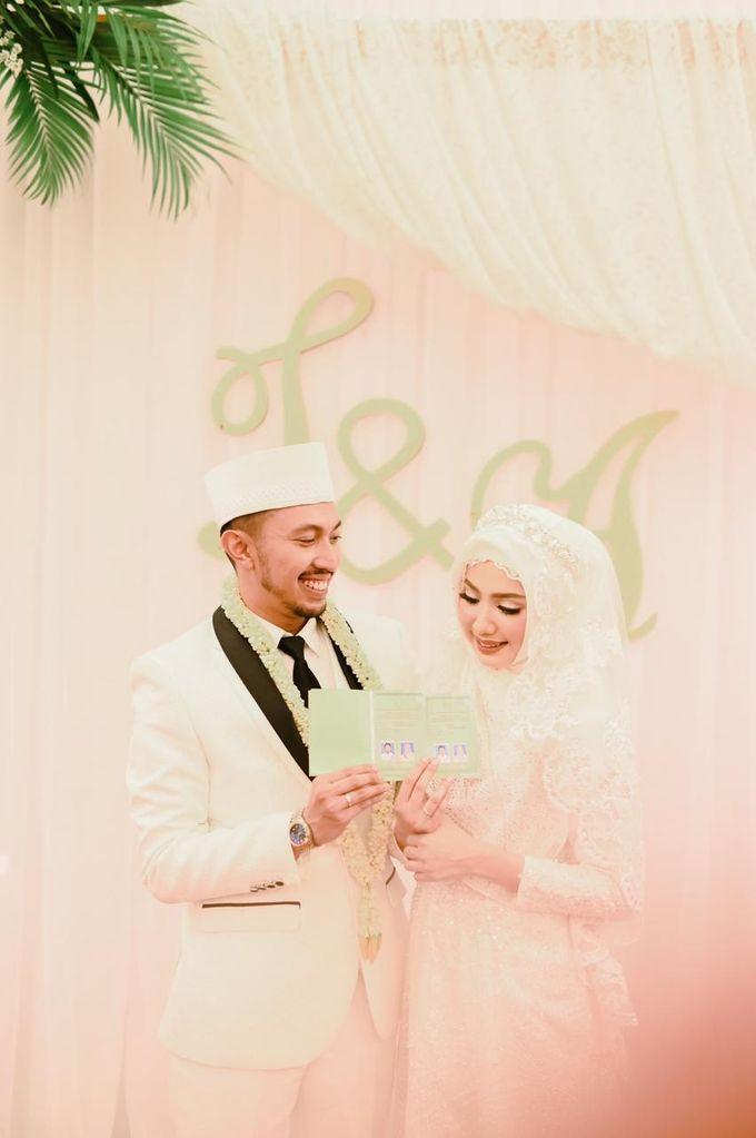 The Wedding of Taufik & Ayu by Khayim Beshafa One Stop Wedding - 012
