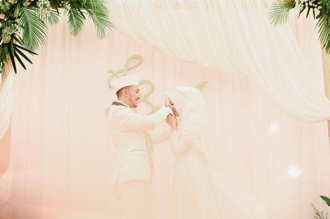 The Wedding of Taufik & Ayu by Khayim Beshafa One Stop Wedding - 013