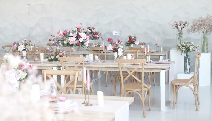 Intimate Wedding Luncheon of Edo & Deasy by Milieu Space - 003
