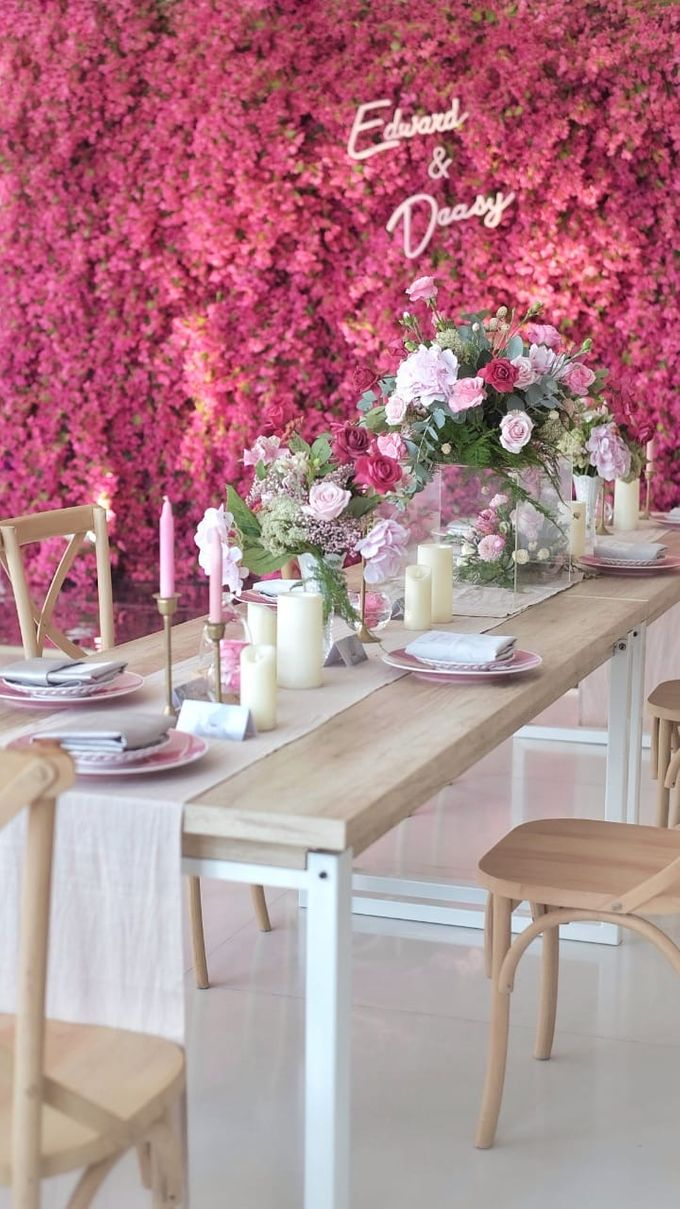 Intimate Wedding Luncheon of Edo & Deasy by Milieu Space - 002