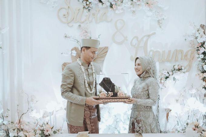 The Wedding of Anung & Silvi by Khayim Beshafa One Stop Wedding - 004