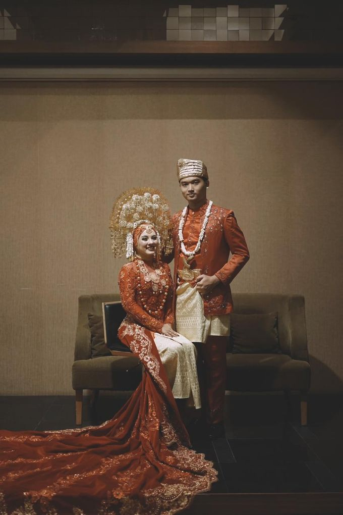 The Wedding of Anung & Silvi by Khayim Beshafa One Stop Wedding - 007
