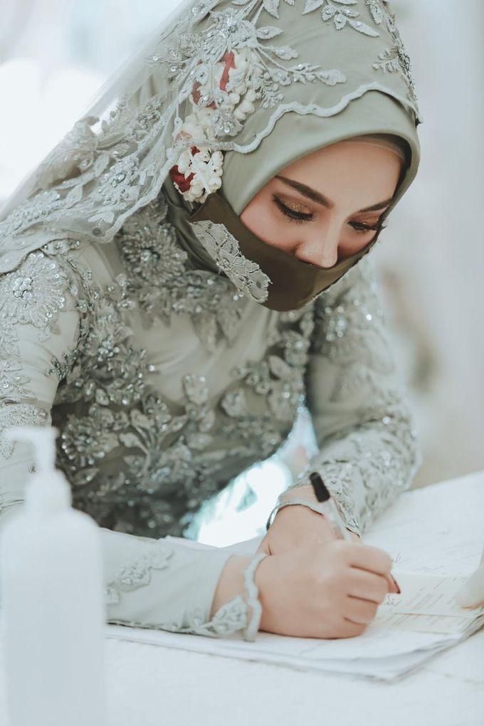 The Wedding of Anung & Silvi by Khayim Beshafa One Stop Wedding - 012