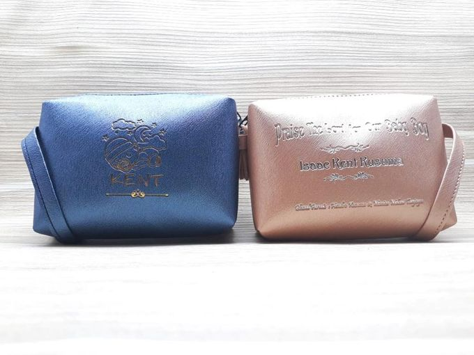 Leather & Synthetic  Pouch by Veddira Souvenir - 008