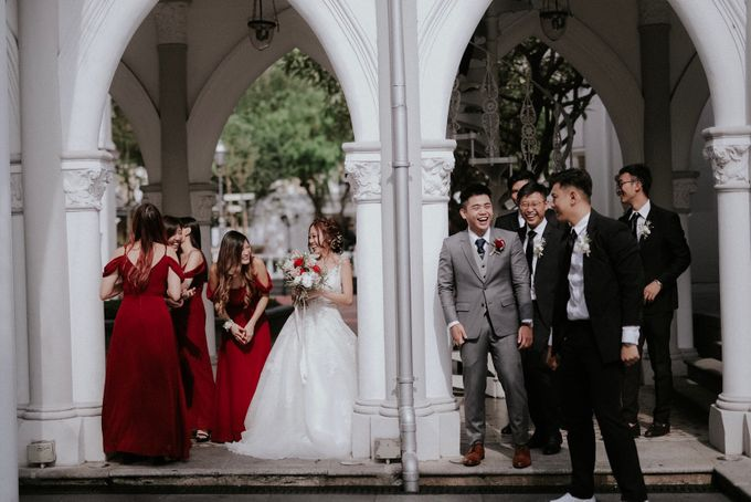 Amazing and beautiful wedding at CHIJMES by Pixioo Photography - 021