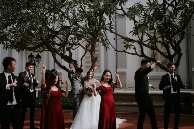 Amazing and beautiful wedding at CHIJMES by Pixioo Photography - 024