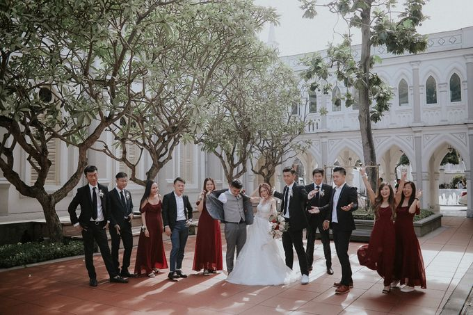 Amazing and beautiful wedding at CHIJMES by Pixioo Photography - 025