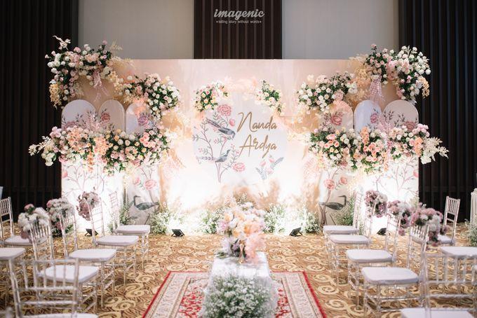 Nanda Arsyinta & Ardya Engagement by Chandira Wedding Organizer - 035