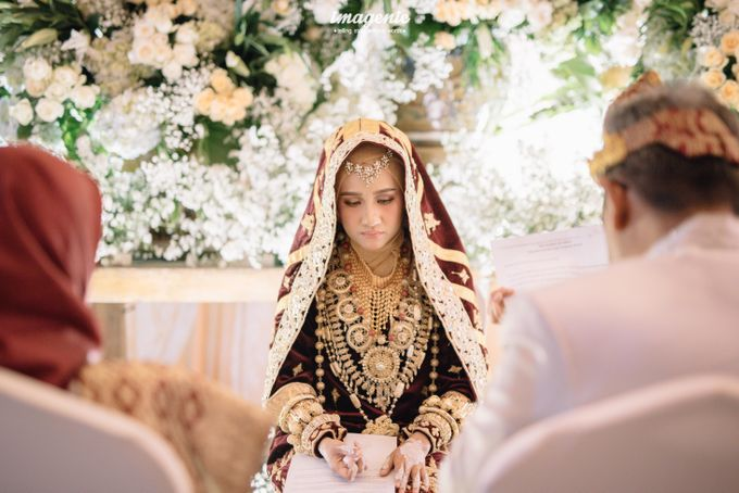 Minang Akad Nikah of Haq & Hilda by  Menara Mandiri by IKK Wedding (ex. Plaza Bapindo) - 003
