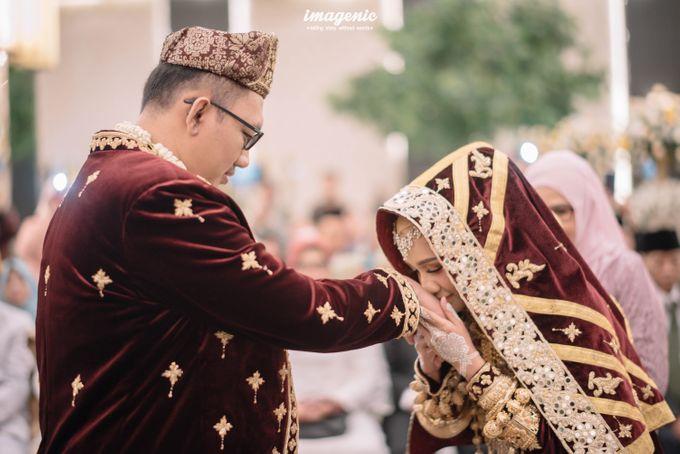 Minang Akad Nikah of Haq & Hilda by  Menara Mandiri by IKK Wedding (ex. Plaza Bapindo) - 006