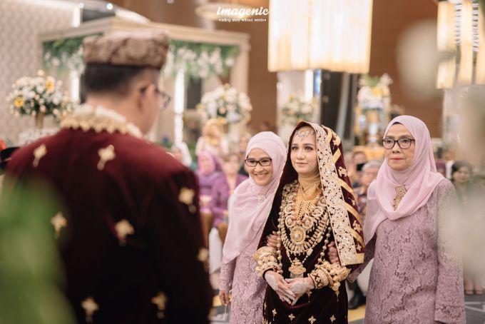 Minang Akad Nikah of Haq & Hilda by  Menara Mandiri by IKK Wedding (ex. Plaza Bapindo) - 007