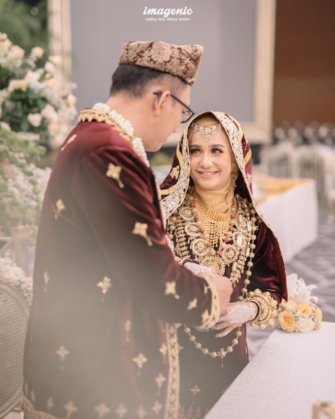 Minang Akad Nikah of Haq & Hilda by  Menara Mandiri by IKK Wedding (ex. Plaza Bapindo) - 009