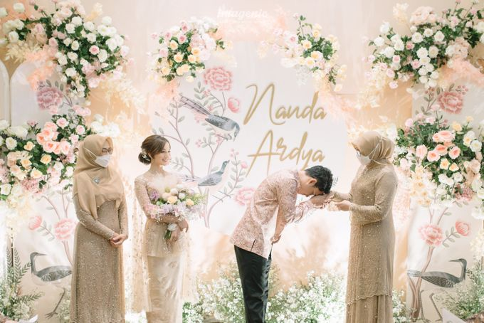 Nanda Arsyinta & Ardya Engagement by Chandira Wedding Organizer - 038