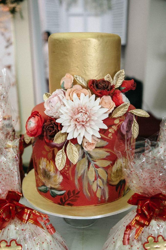 Sangjit and Engagement by Gordon Blue Cake - 002