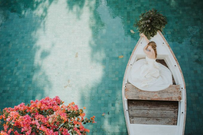 Environmental Friendly Concept Wedding decoration theme by Tirtha Bridal - 010