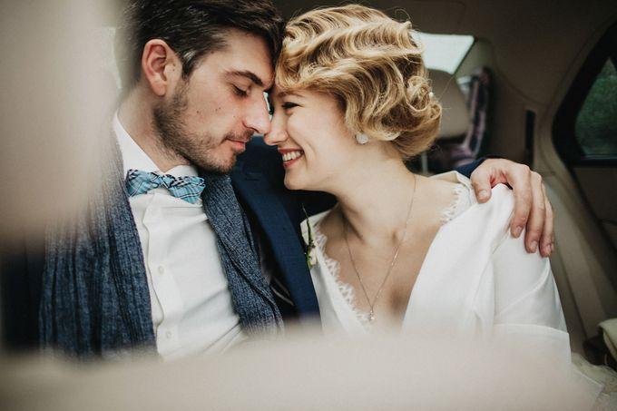 Olga and Volker Rainy Day Wedding by Dasha Elfutina - 002