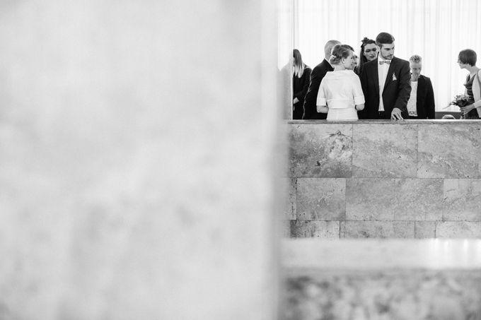 Olga and Volker Rainy Day Wedding by Dasha Elfutina - 004