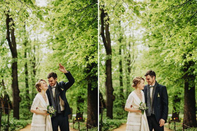 Olga and Volker Rainy Day Wedding by Dasha Elfutina - 012