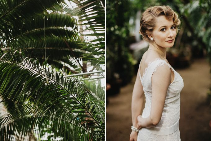 Olga and Volker Rainy Day Wedding by Dasha Elfutina - 019