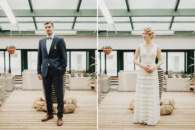 Olga and Volker Rainy Day Wedding by Dasha Elfutina - 018