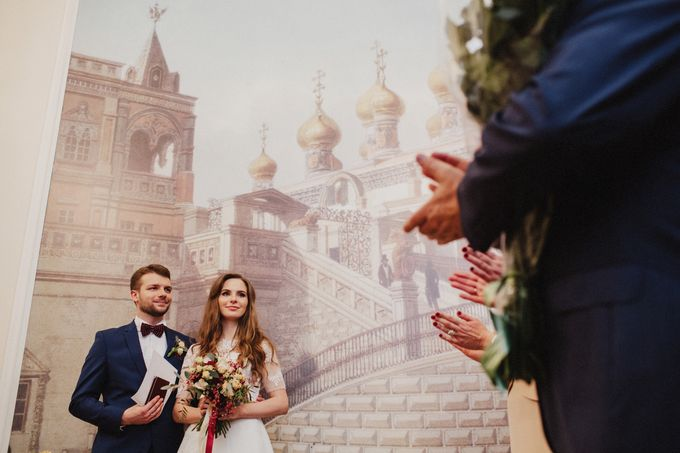 Anna and Roman Wedding by Dasha Elfutina - 025