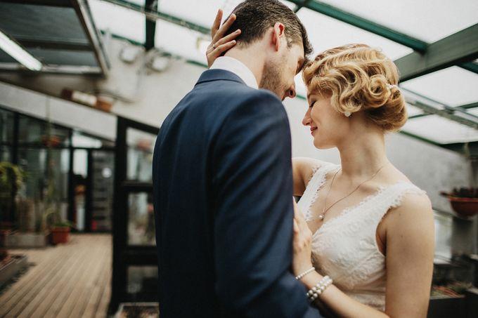 Olga and Volker Rainy Day Wedding by Dasha Elfutina - 020