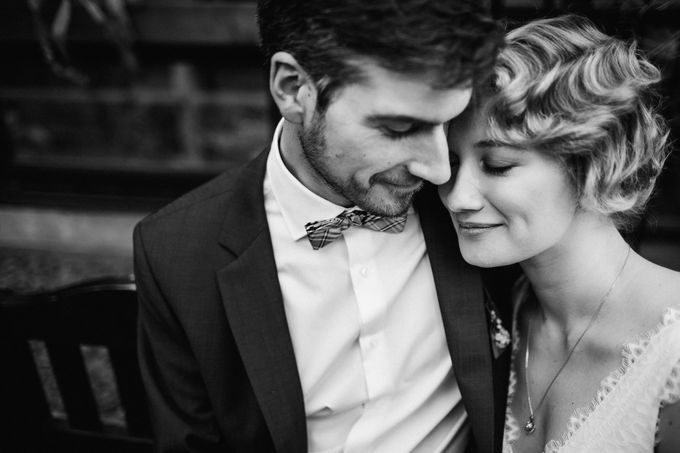 Olga and Volker Rainy Day Wedding by Dasha Elfutina - 021