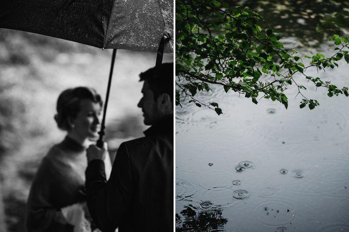 Olga and Volker Rainy Day Wedding by Dasha Elfutina - 023