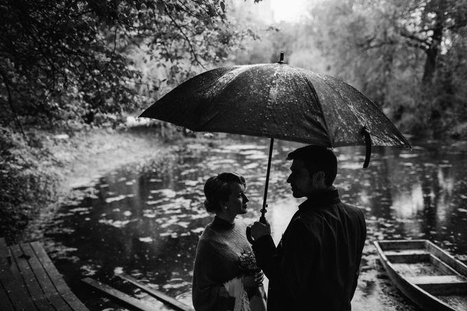 Olga and Volker Rainy Day Wedding by Dasha Elfutina - 024