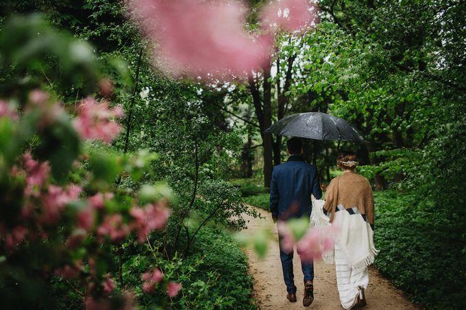 Olga and Volker Rainy Day Wedding by Dasha Elfutina - 027
