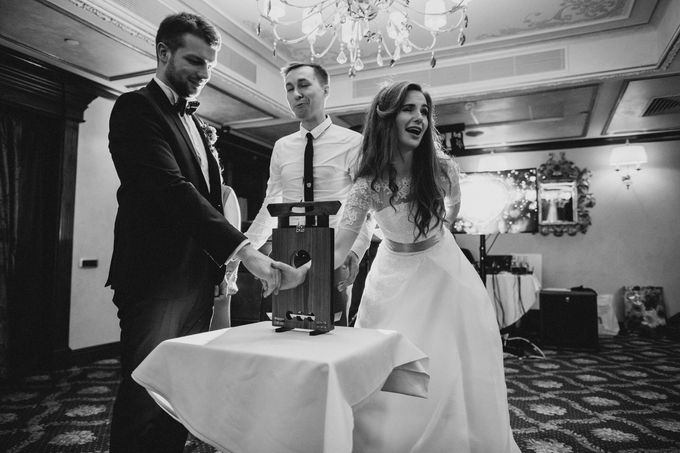 Anna and Roman Wedding by Dasha Elfutina - 039