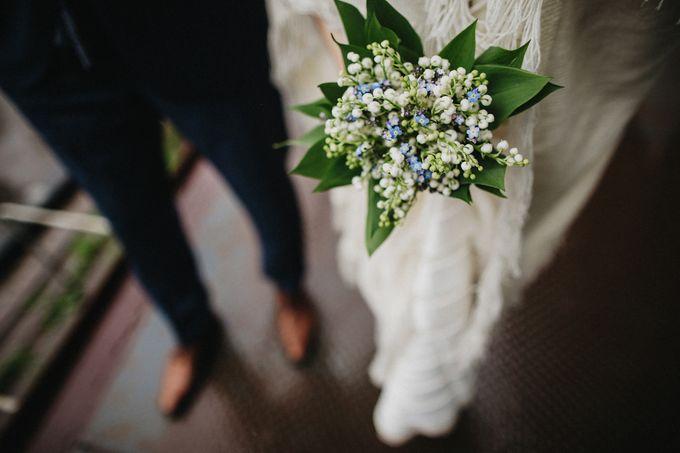 Olga and Volker Rainy Day Wedding by Dasha Elfutina - 030